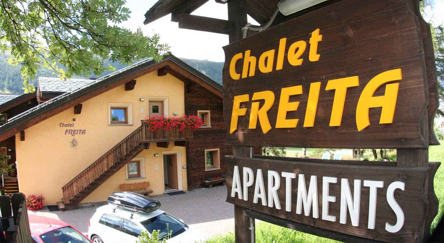 baita chalet freita livigno hotel silvestri