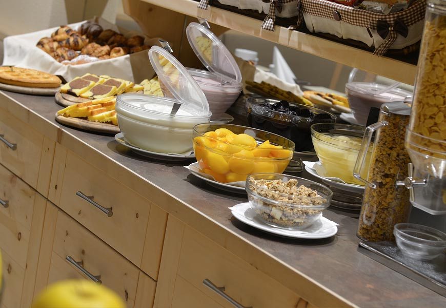 hotel silvestri livigno colazione